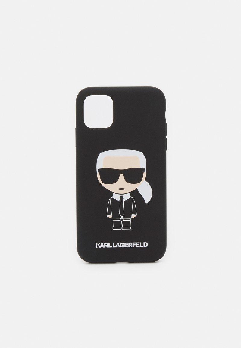 KARL LAGERFELD - IKONIK CASE IP11 - Handytasche - black