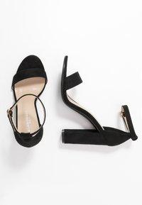Glamorous Wide Fit - Sandały na obcasie - black - 3
