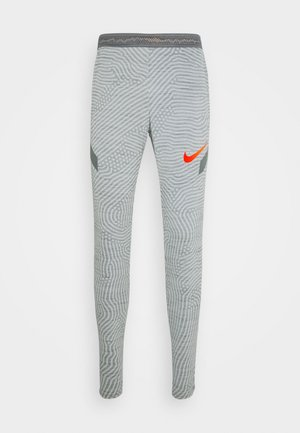DRY STRIKE PANT - Teplákové kalhoty - smoke grey/heather/smoke grey/total orange