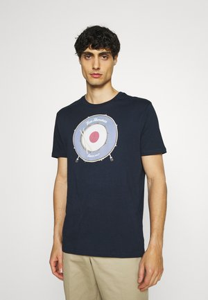 DRUM TARGET TEE - T-shirt print - airforce