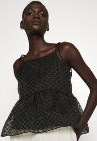 Bruuns Bazaar - DITTANY LENNY  - Top - black - 5