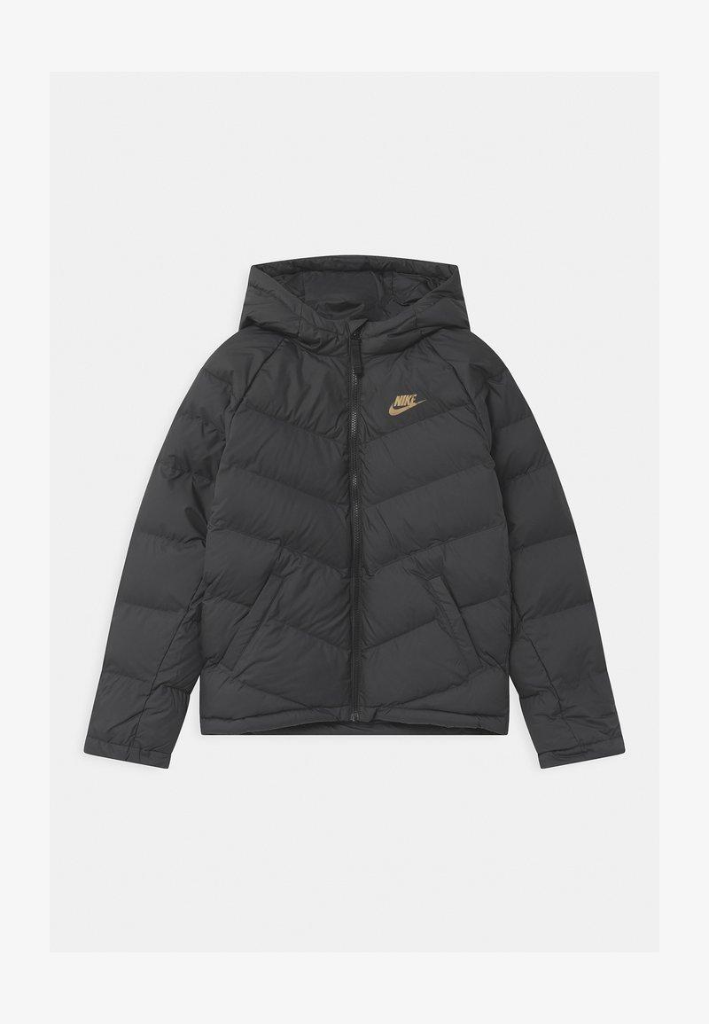 Nike Sportswear - UNISEX - Winter jacket - black/metallic gold