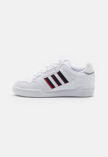 CONTINENTAL 80 STRIPES UNISEX - Sneakers basse - footwear white/collegiate navy/vivid red