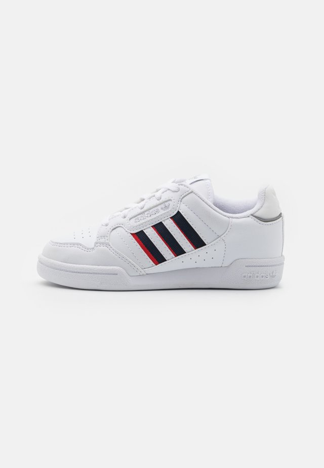 CONTINENTAL 80 STRIPES UNISEX - Trainers - footwear white/collegiate navy/vivid red