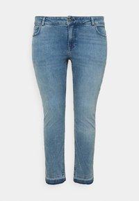 Zizzi - JCLARA EMILY JEANS - Jeans Skinny Fit - blue denim - 4