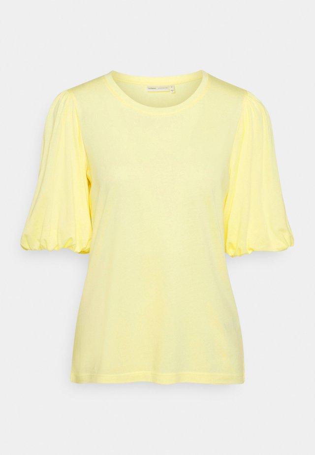 VERGE - T-shirt basic - anise