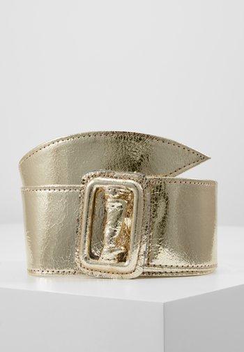 Waist belt - gold metallic