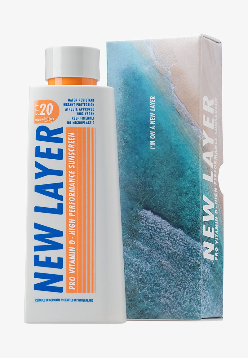 New Layer - PRO VITAMIN D HIGH PERFORMANCE SONNENCREME LSF20 - Sun protection - -