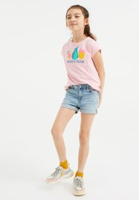 WE Fashion - Denim shorts - blue - 0