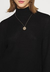 Noisy May - NMSIAN HIGH NECK  - Jumper - black - 5
