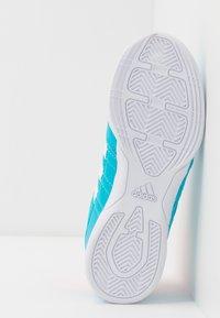 adidas Performance - SUPER SALA UNISEX - Indoor football boots - signal cyan/signal pink/royal blue - 5