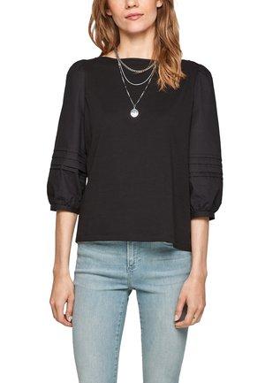 BIESJES - T-shirt à manches longues - black