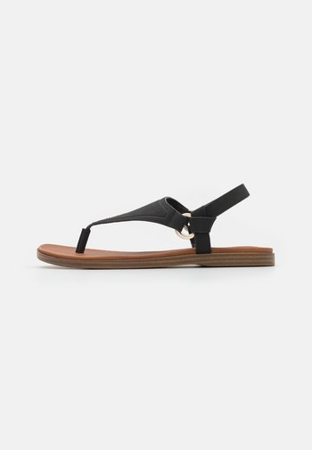 ZOLLIE - T-bar sandals - black