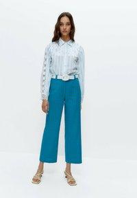 Uterqüe - Button-down blouse - multi-coloured - 1