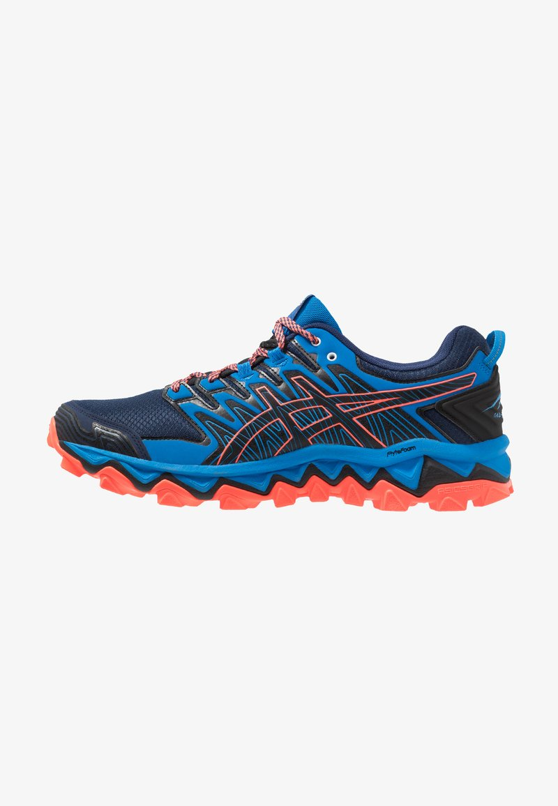 ASICS - GEL-FUJITRABUCO 7 - Chaussures de running - blue expanse/electric blue