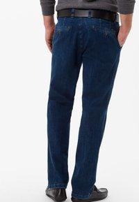 BRAX - STYLE JIM - Straight leg jeans - blue stone - 1