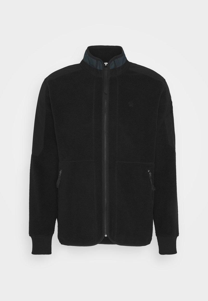 G-Star - TECH FLEECE ZIP THRU SW L\S - Fleece jacket - dark black