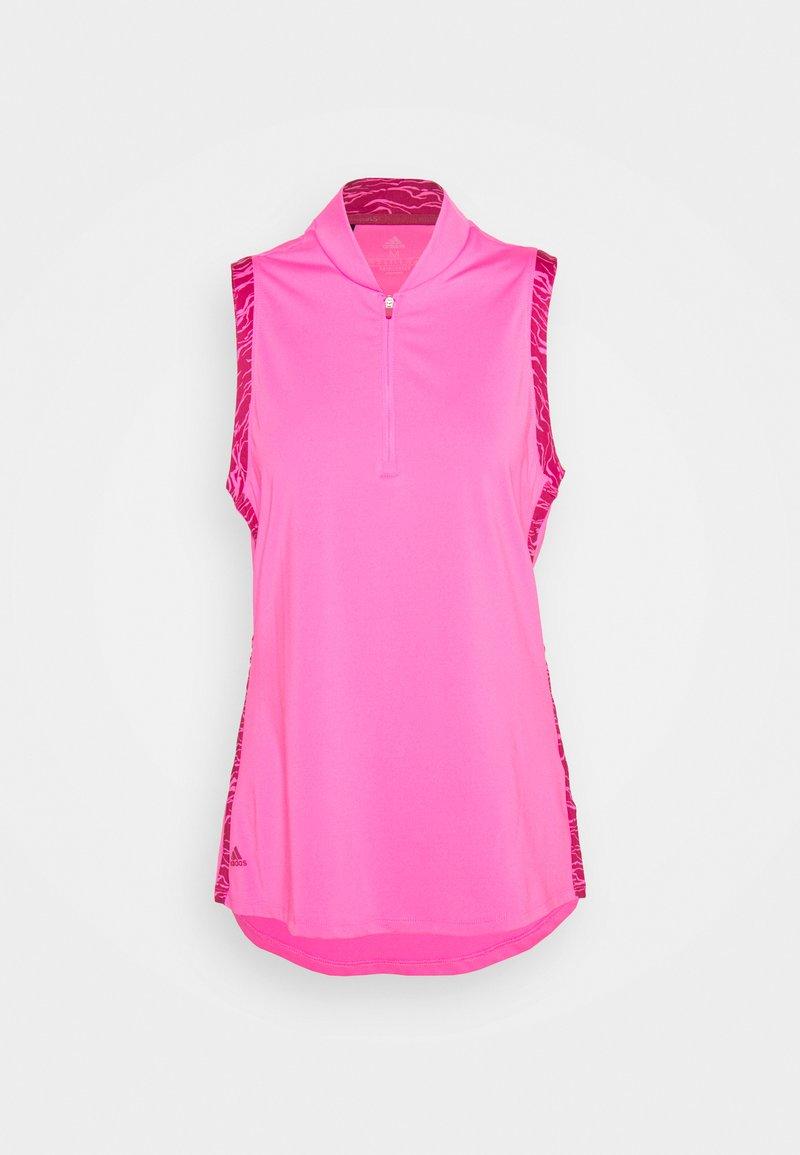 adidas Golf - ULTIMATE SLEEVELESS - Top - screaming pink