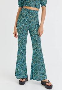 PULL&BEAR - Trousers - light blue - 0