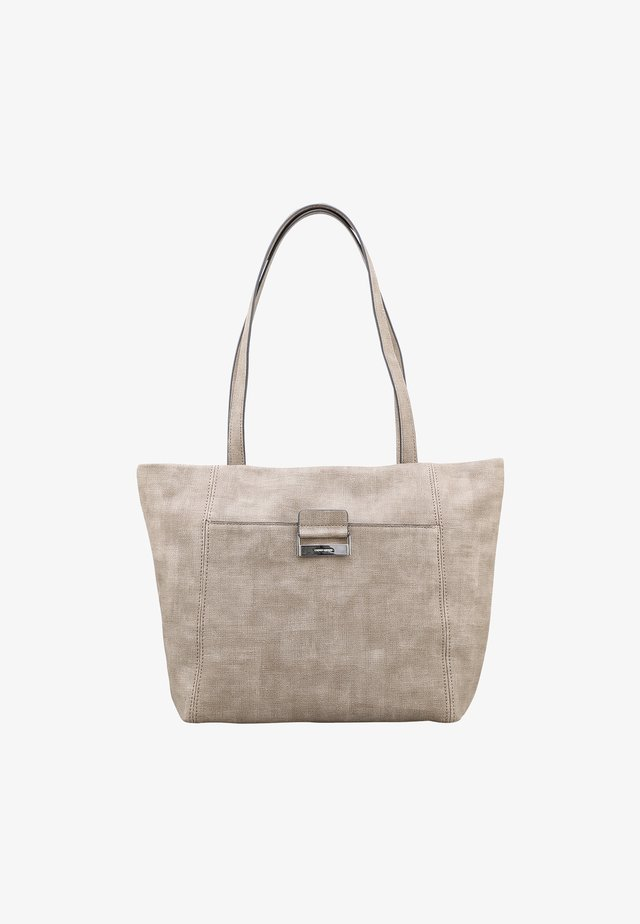 BE DIFFERENT LHZ - Tote bag - taupe