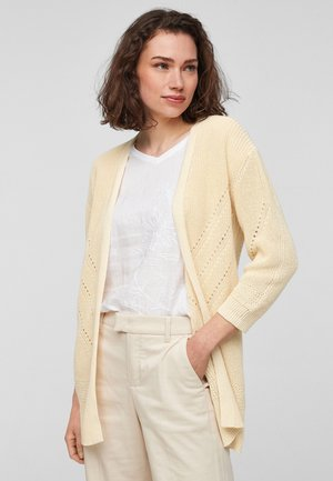 Cardigan - sunlight yellow