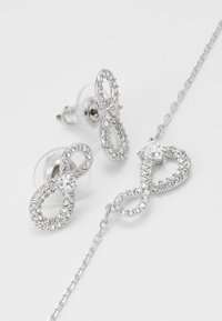 Swarovski - INFINITY SET - Kolczyki - silver-coloured