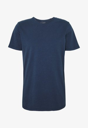 JJEASHER TEE O-NECK NOOS - Basic T-shirt - navy