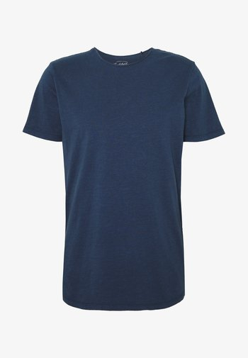 JJEASHER TEE O-NECK NOOS - T-shirt - bas - navy