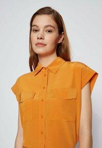 BOSS - Button-down blouse - open yellow - 3