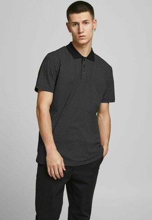 REGULAR FIT - Poloshirt - black