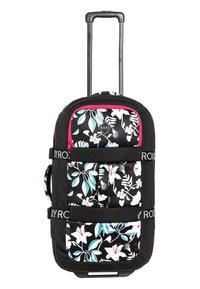 Roxy - ROXY™ IN THE CLOUDS 87L - GROSSER NEOPREN-KOFFER MIT ROLLEN ERJBL - Wheeled suitcase - true black story of sunshine - 3