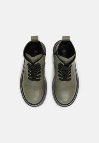 MSGM - UNISEX - Lace-up ankle boots - khaki - 3