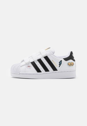SUPERSTAR UNISEX  - Sneakersy niskie - footwear white/core black/gold metallic