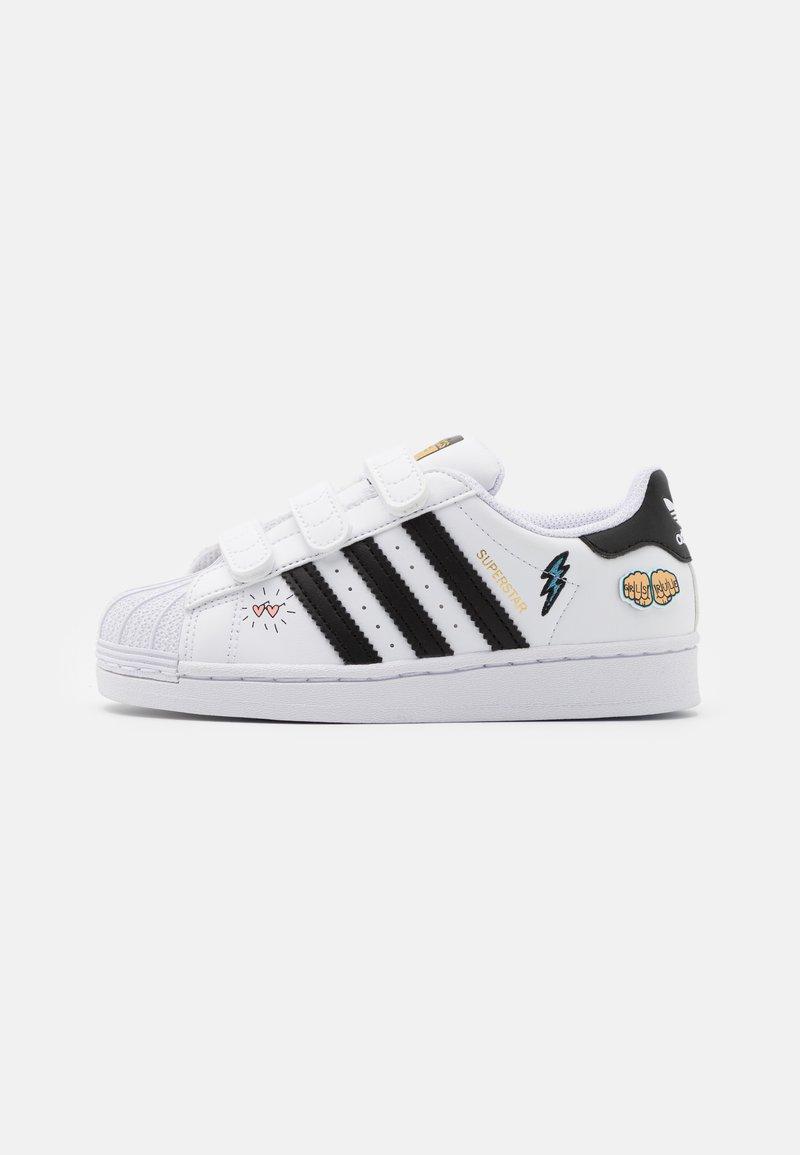adidas Originals - SUPERSTAR UNISEX  - Sneakers laag - footwear white/core black/gold metallic