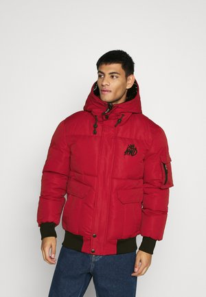 MILFORD PUFFER JACKET - Winter jacket - red
