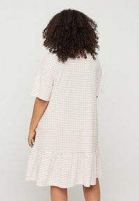 Zizzi - Shirt dress - white - 1