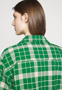 MM6 Maison Margiela - Button-down blouse - green - 6