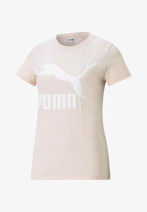 Print T-shirt - cloud pink
