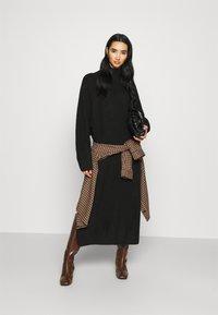 Monki - KEAN DRESS - Jumper dress - black dark - 1