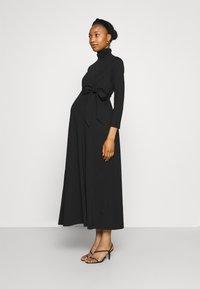 IVY & OAK Maternity - DORIS - Maxi dress - black - 0