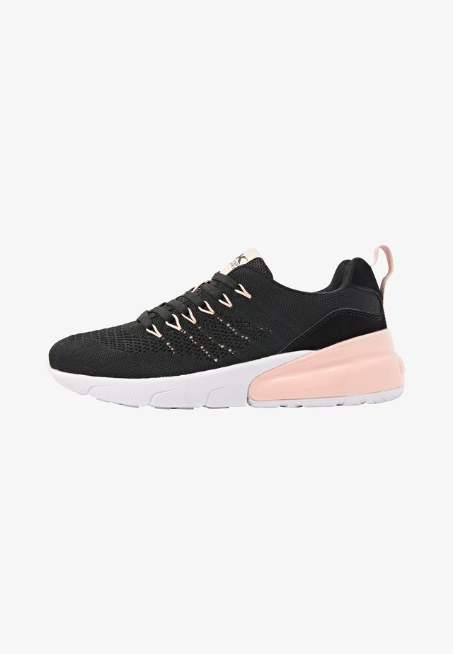 TURON - Sneakersy niskie - black/peach