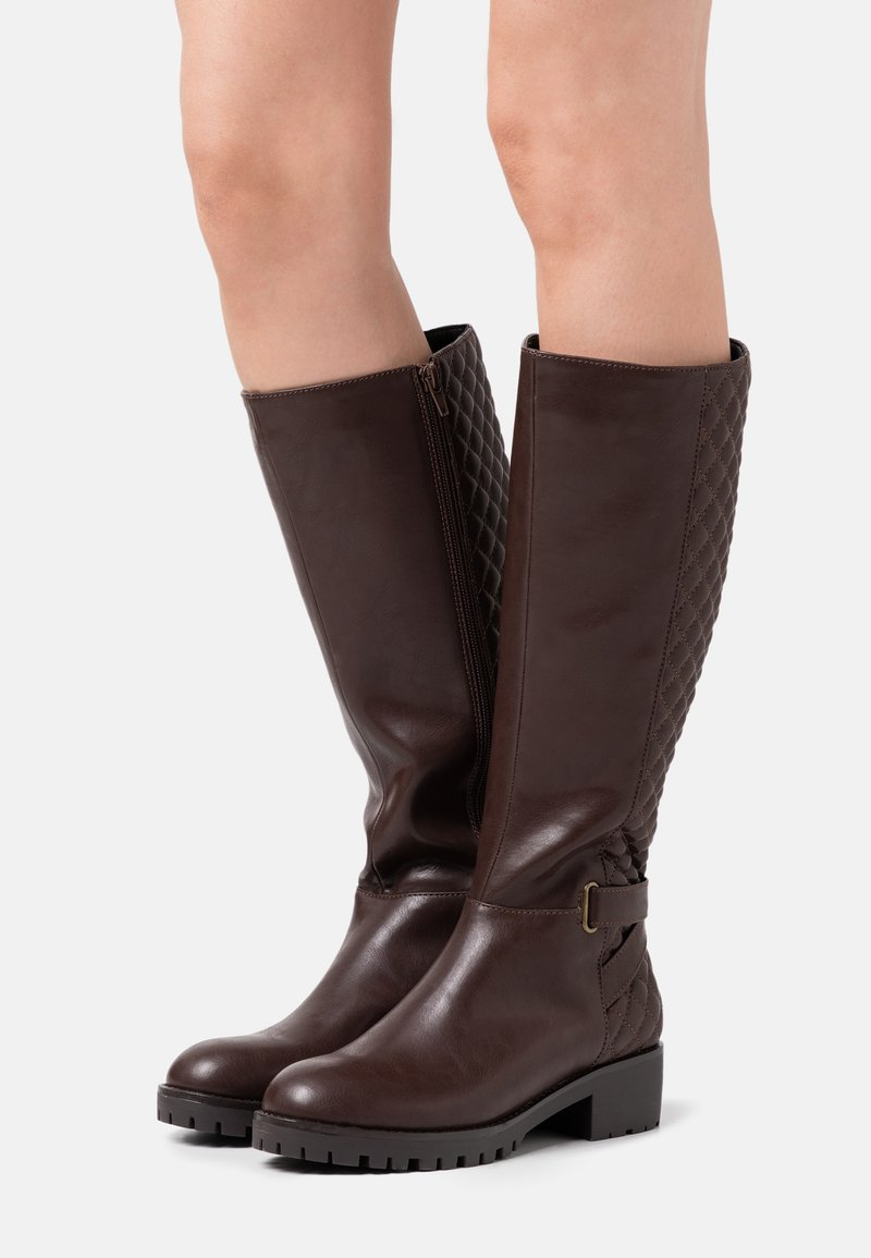Anna Field - Boots - dark brown
