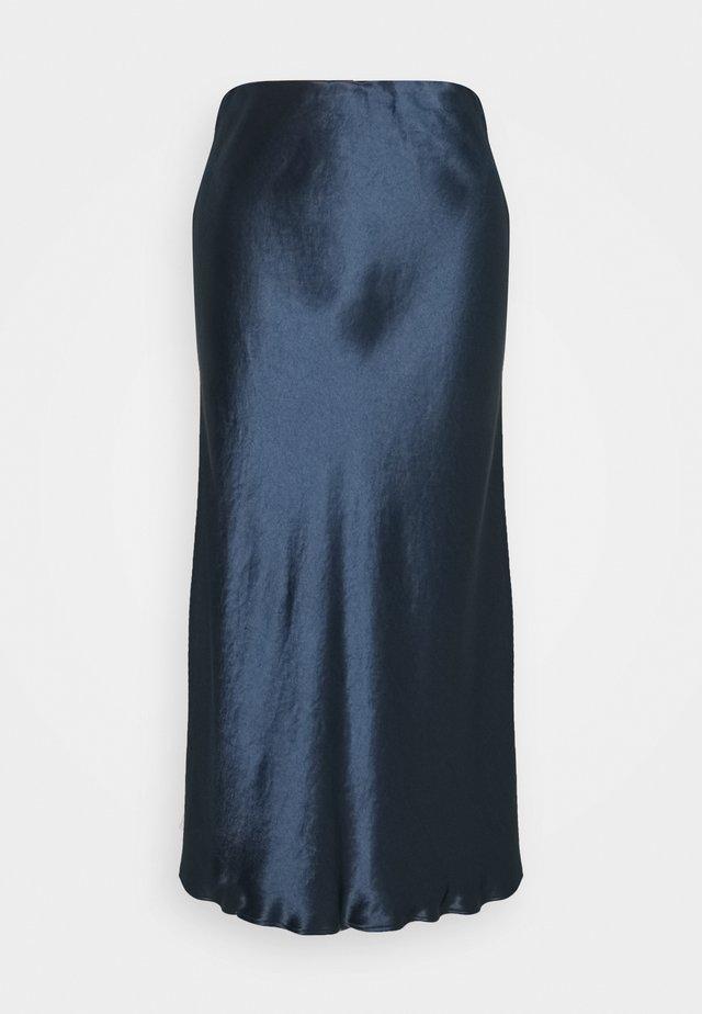 ALESSIO - Bleistiftrock - blau