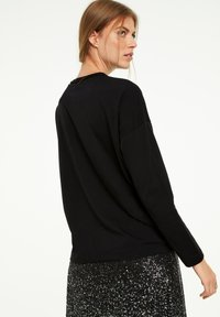 comma casual identity - Long sleeved top - black sequins - 2
