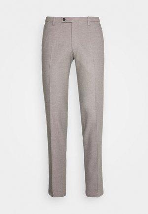 CIBRAVO TROUSER - Spodnie materiałowe - grey/beige