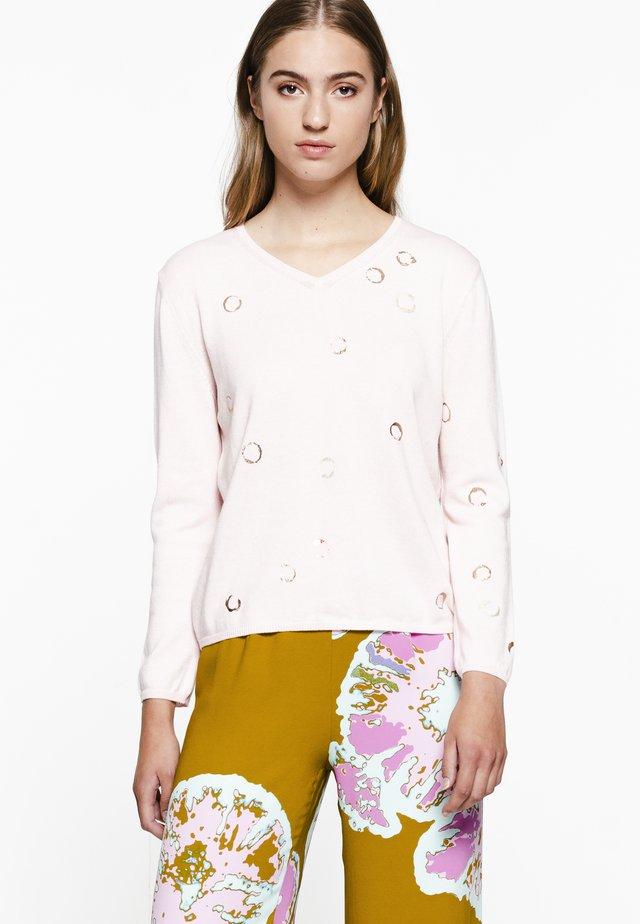 NASRO RIRI - Pullover - pink