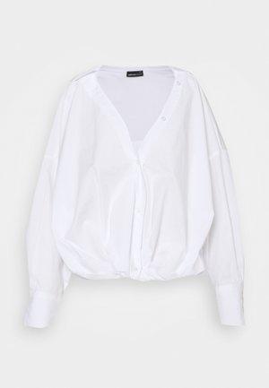 DILAN SHIRT - Bluse - white