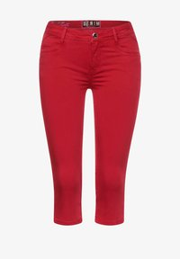 Street One - Denim shorts - rot - 3