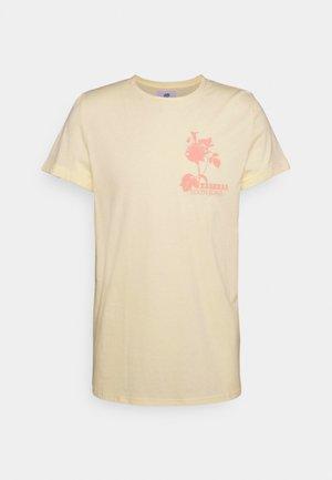 T-Shirt print - beig