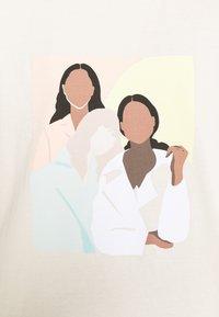 Gina Tricot - IDA TEE - T-shirts print - ecru - 5